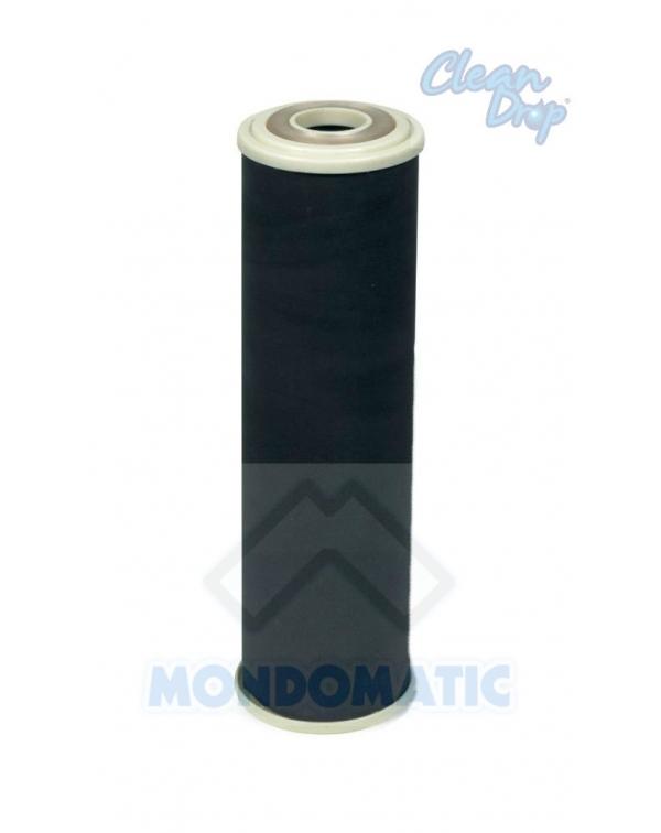 Filtro CLEAN DROP carbon block 0,3 µ Argentizzato
