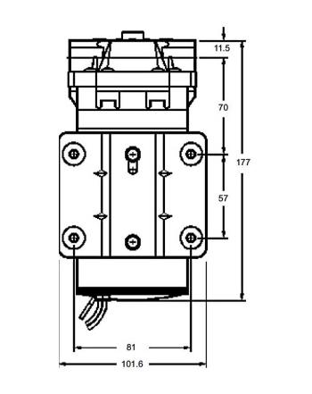 Pompa a membrana 230V