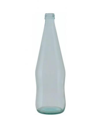 Bottiglia sagomata 50cl con tappo bianco