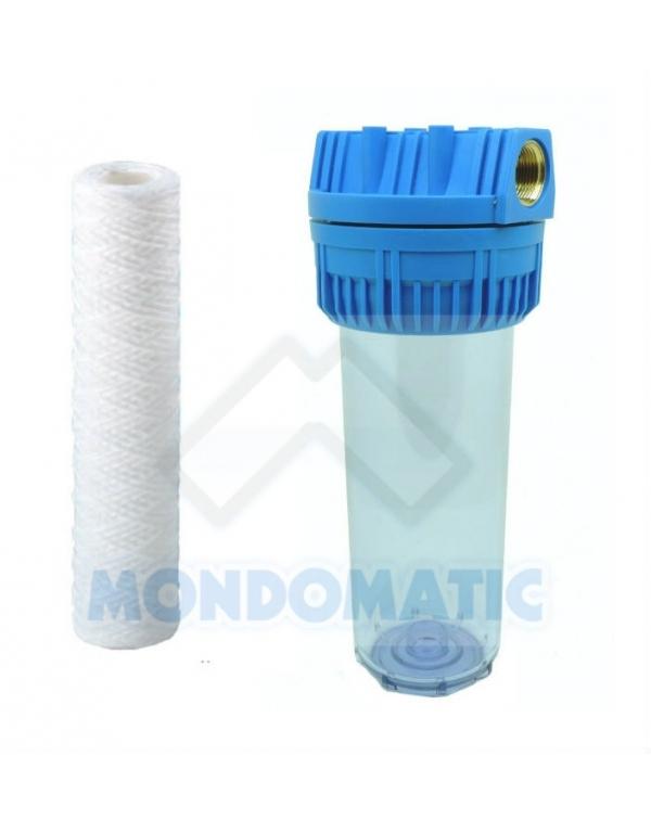 Pre-filtro con cartuccia CLEAN DROP a filo avvolto