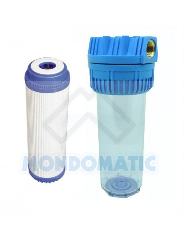 Pre-filtro con cartuccia CLEAN DROP carbone granulare